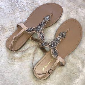BCBGeneration crystal sandals